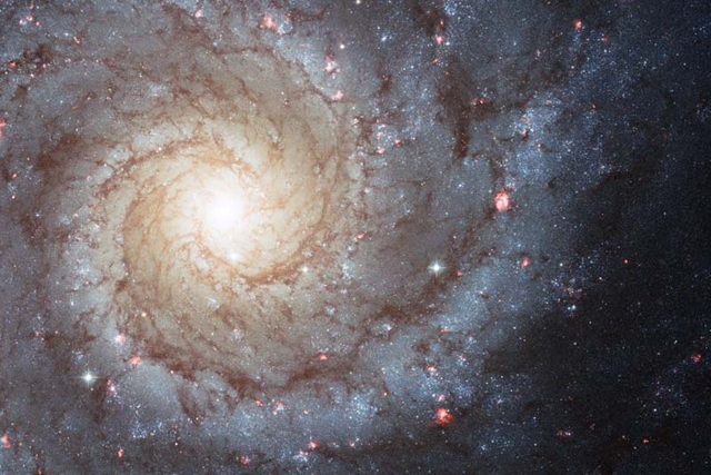 Spiral Galaxy M74 [Credit: NASA, ESA, and the Hubble Heritage (STScI/AURA)-ESA/Hubble Collaboration]