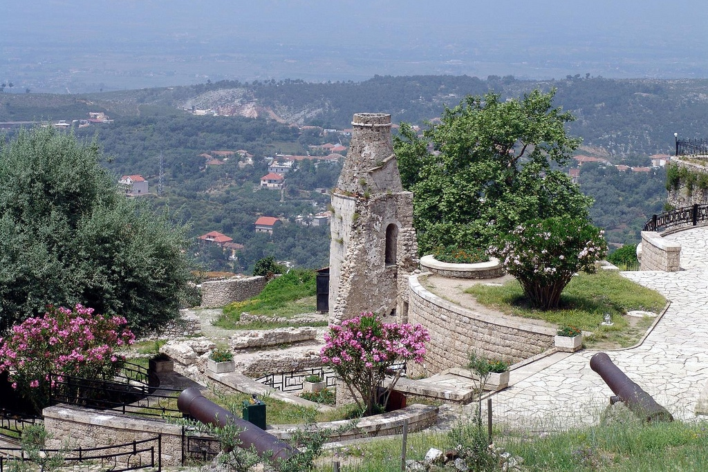 ALBANIA: View from the castle at Kruje (Photo Credit: Central Intelligence Agency (CIA) - The World Factbook)