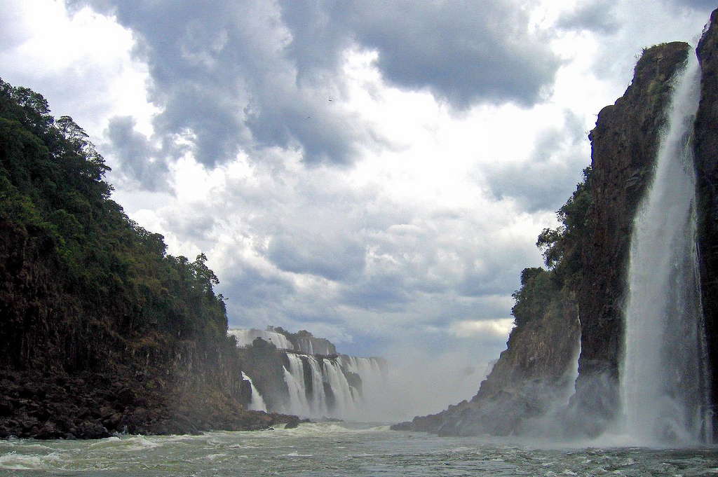 ARGENTINA: view of Iguazu Falls (Photo Credit: Central Intelligence Agency (CIA) - The World Factbook)