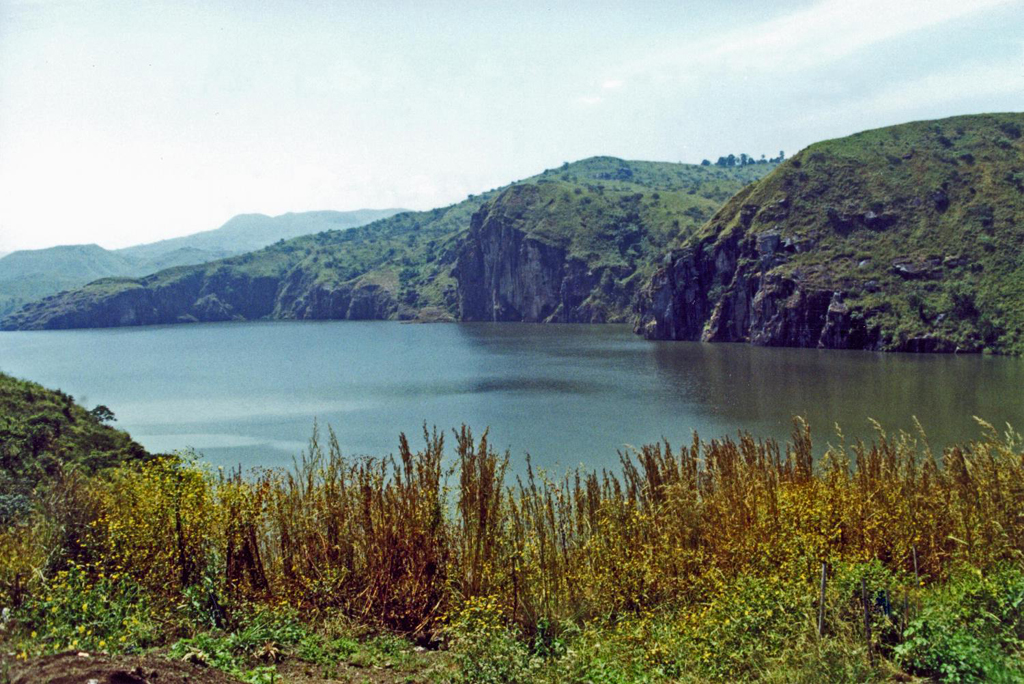 CAMEROON: Lake Nyos is a crater lake on the flank of an inactive volcano (Photo Credit: Central Intelligence Agency (CIA) - The World Factbook)