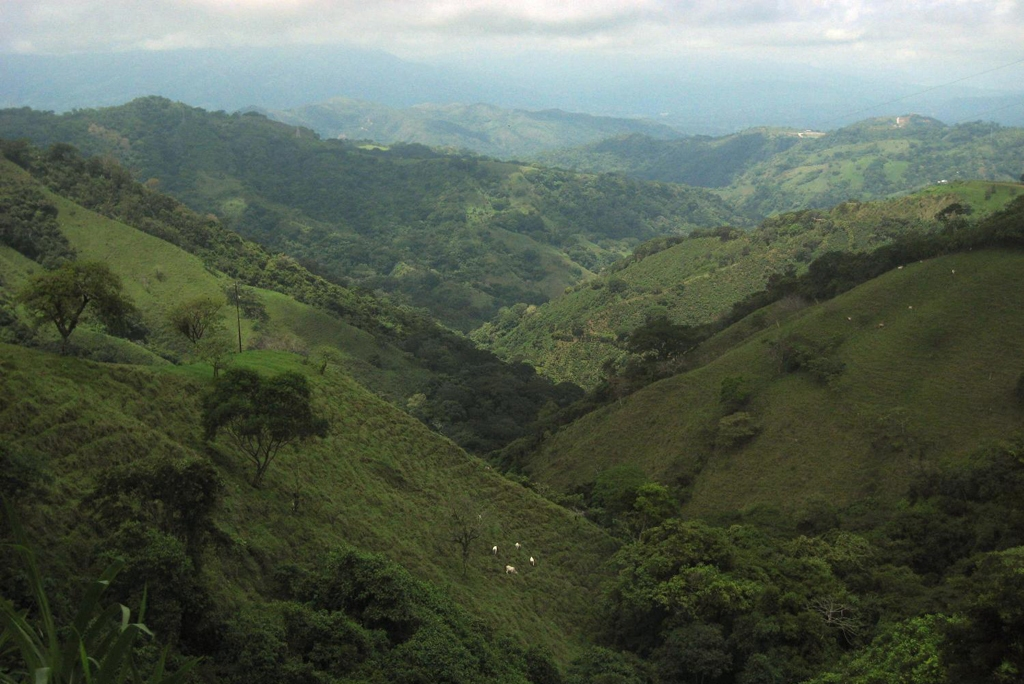 COSTA RICA: Mountainous countryside along the road to the capital of San Jose (Photo Credit: Central Intelligence Agency (CIA) - The World Factbook)