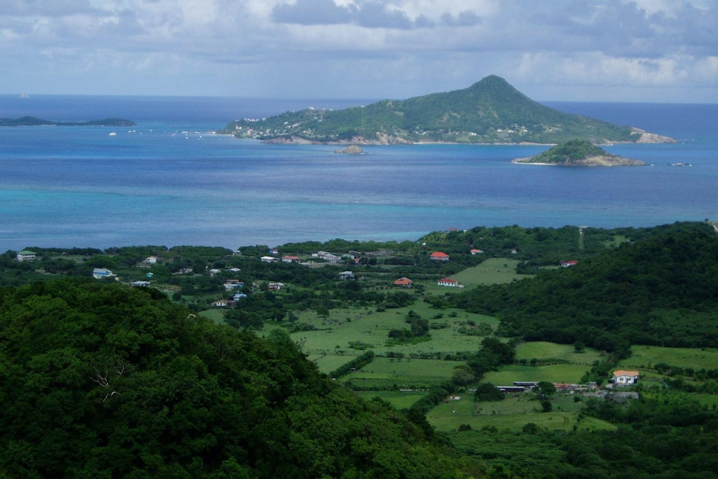 GRENADA: island of Carriacau, part of Grenada (Photo Credit: Central Intelligence Agency (CIA) - The World Factbook)