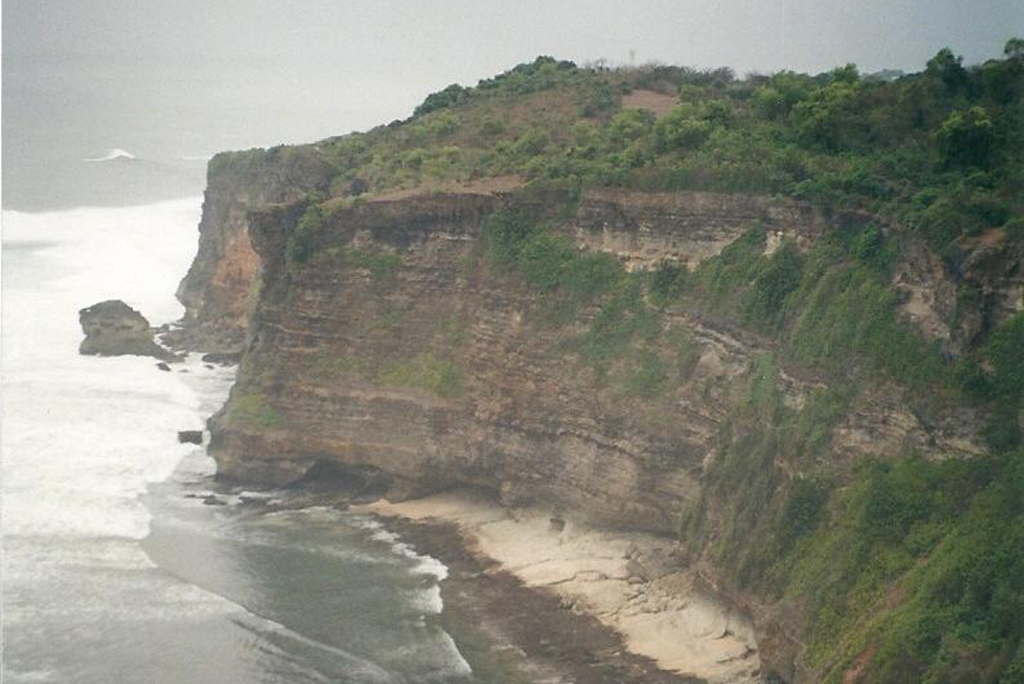 INDONESIA: View from the cliffs at Pura Luhur Uluwatu, Bali (Photo Credit: Central Intelligence Agency (CIA) - The World Factbook)