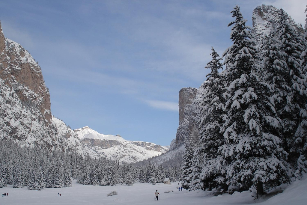 ITALY: Val Gardena is one of the top ski locales in Italy (Photo Credit: Central Intelligence Agency (CIA) - The World Factbook)