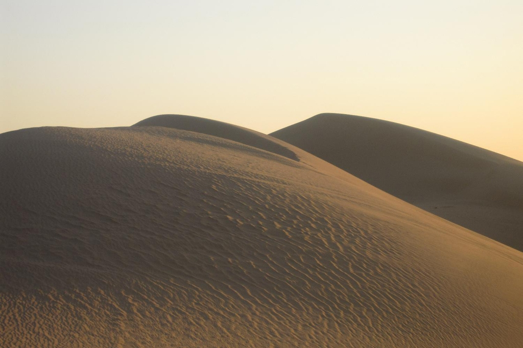 LIBYA: sand dunes of the Sahara Desert (Photo Credit: Central Intelligence Agency (CIA) - The World Factbook)