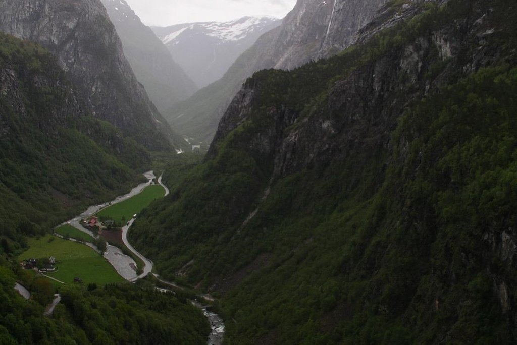 NORWAY: Majestic Naeroy Fjord (Photo Credit: Central Intelligence Agency (CIA) - The World Factbook)