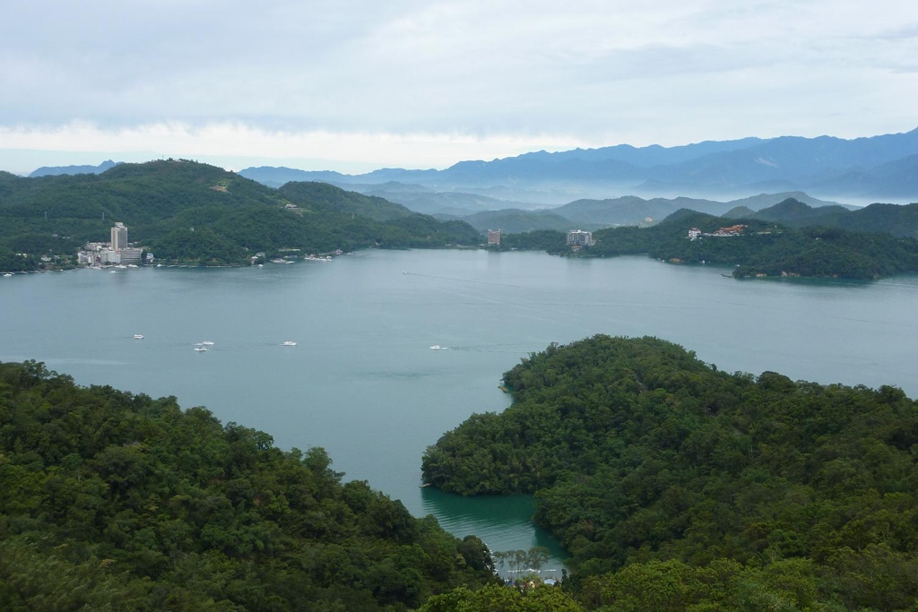 TAIWAN: Sun Moon Lake is situated in Nantou County, Taiwan (Photo Credit: Central Intelligence Agency (CIA) - The World Factbook)